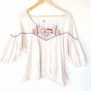 Free People Bohemian top size S